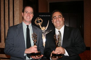 VideoArt Productions - Art & Tom with Emmy Award